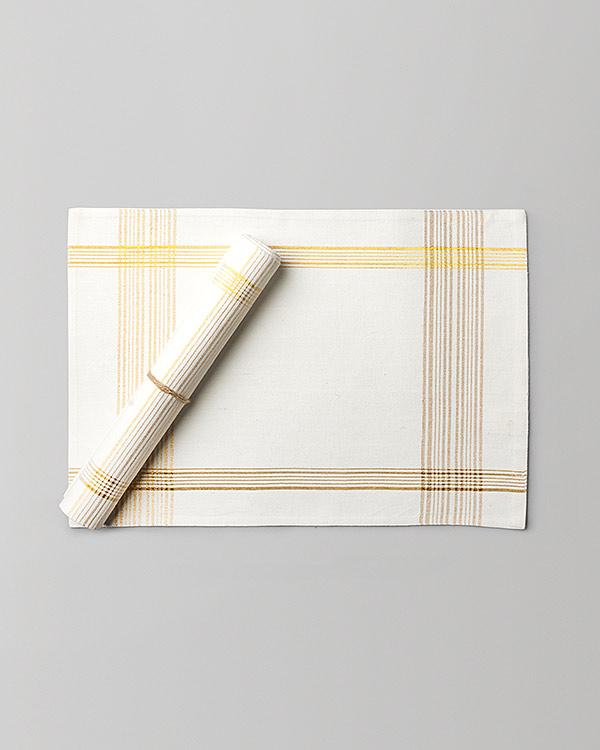 Riku Placemat (Set of 2) - Gold