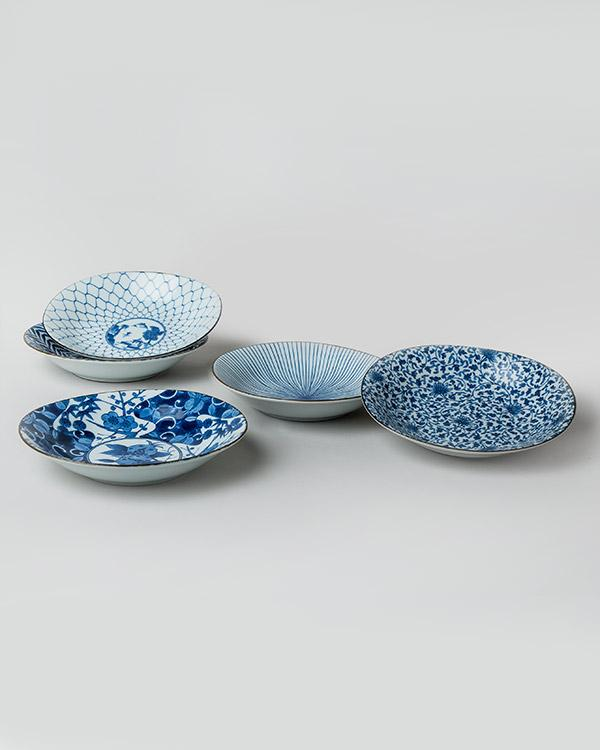 Donburi Shallow Bowl (Set of 5)