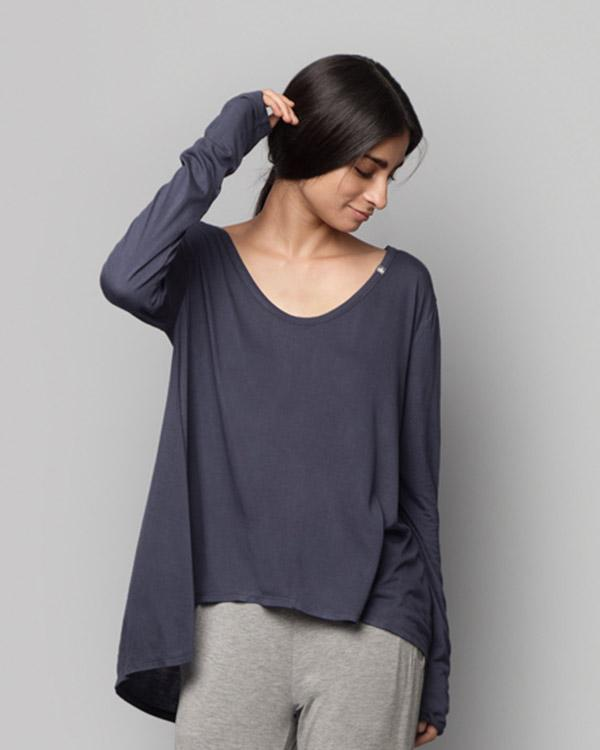 Ukiyo A-Line Top - Blue