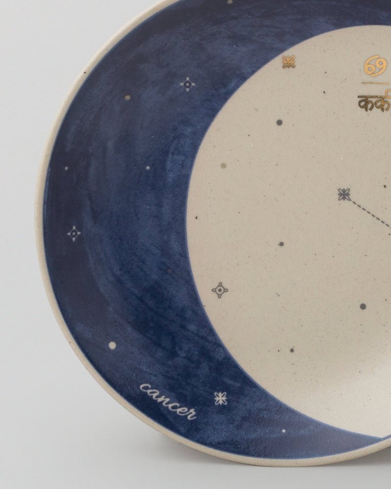 Luna Tea Plate - Cancer