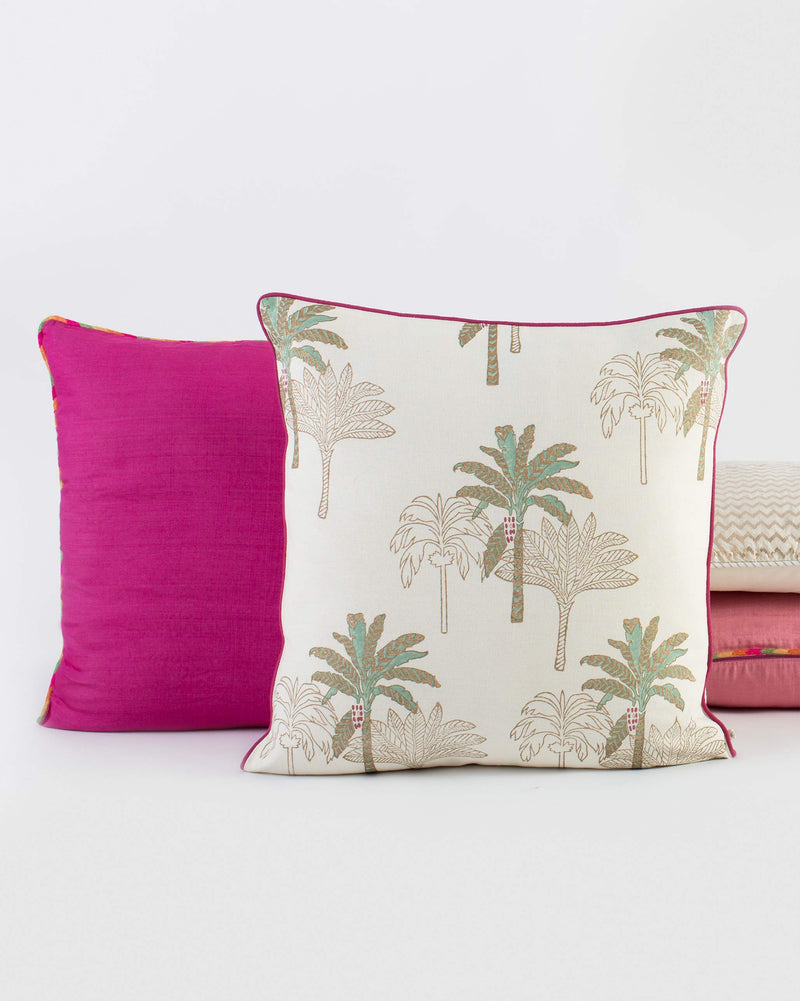 Shimmer Palm Cushion