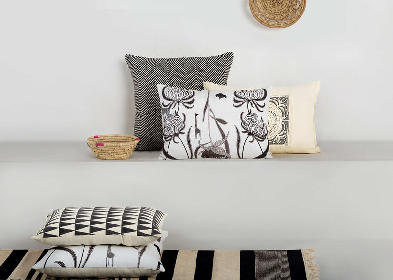 Chrysanthemum Animals Pillow