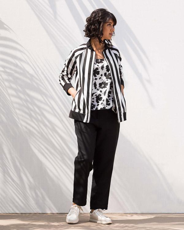 Bomber Stripe Jacket