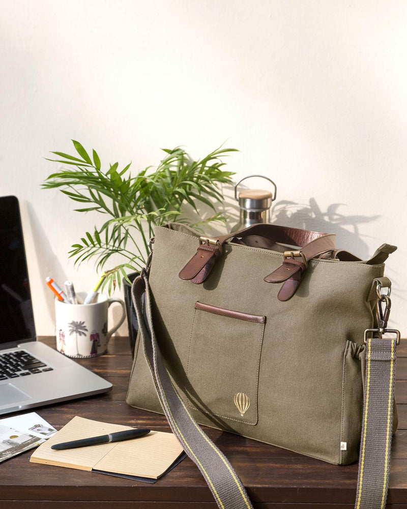 The Perfect Work Bag - Walnut