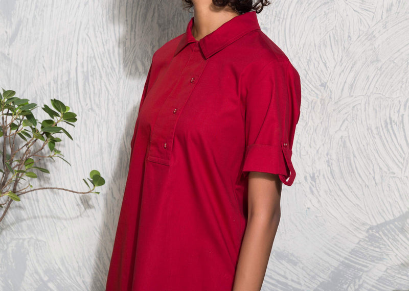 East Coast Top - Red