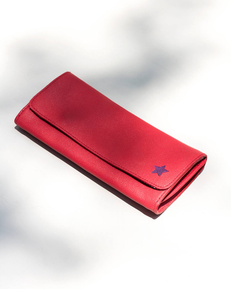 Bay Wallet - Red