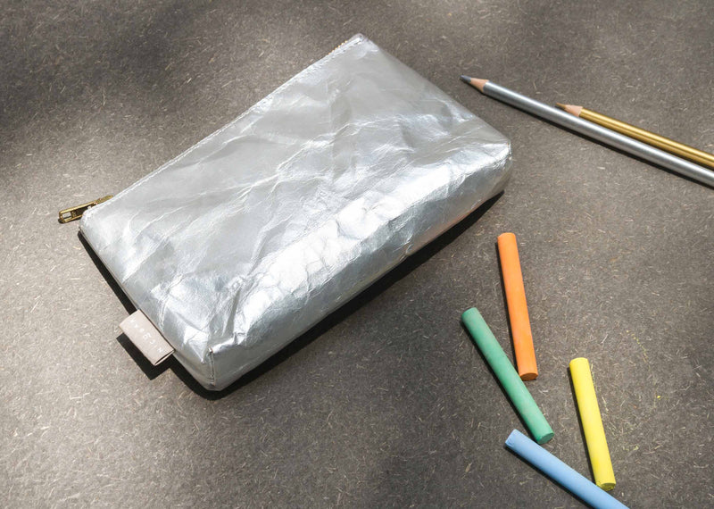 Paper Pouch (Small) - Silver