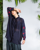 Midnight Outsize Shirt