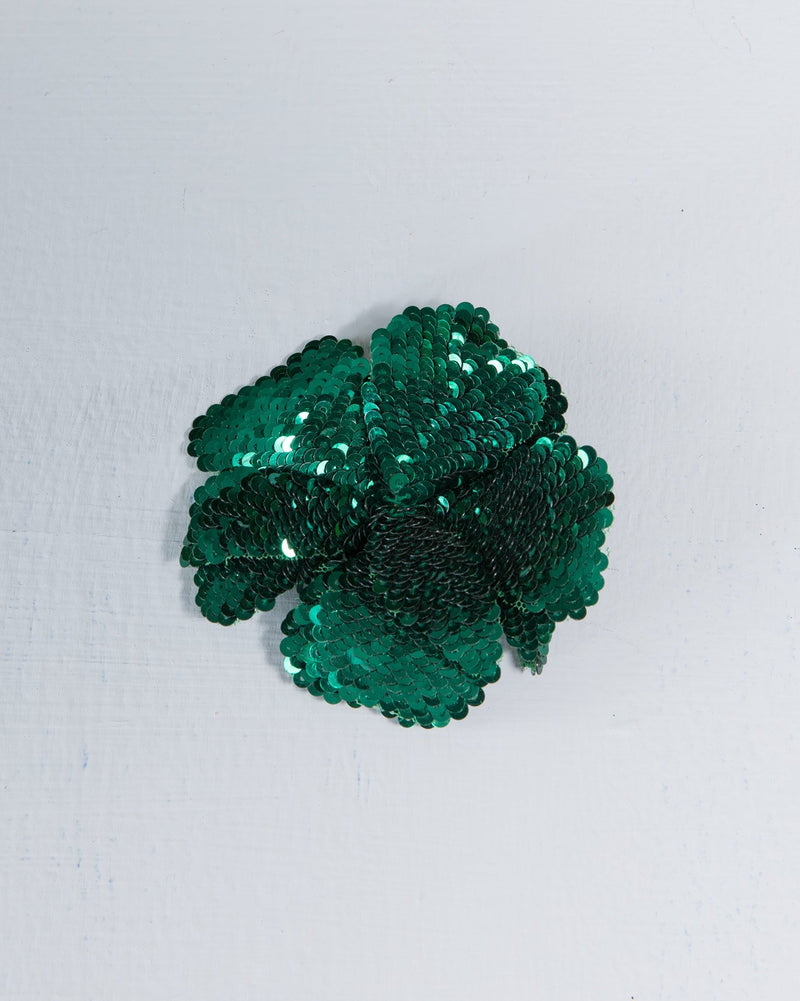 Daisy Brooch - Green