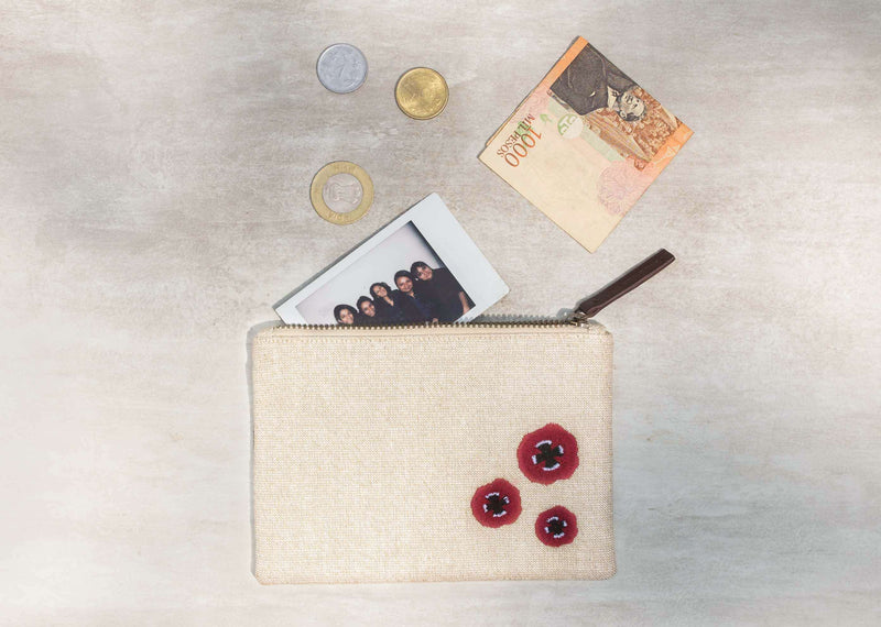 Mini Poppy Pouch