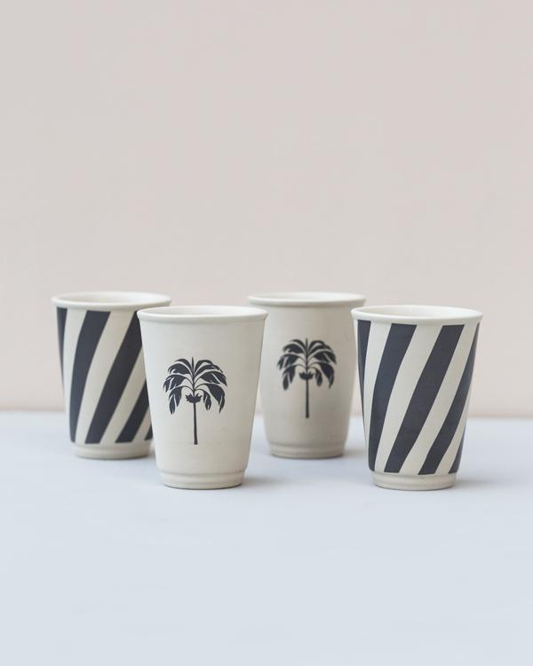 Kandy Palm Kulhar (Set of 4)