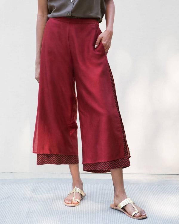 Marshmallow Pants - Red