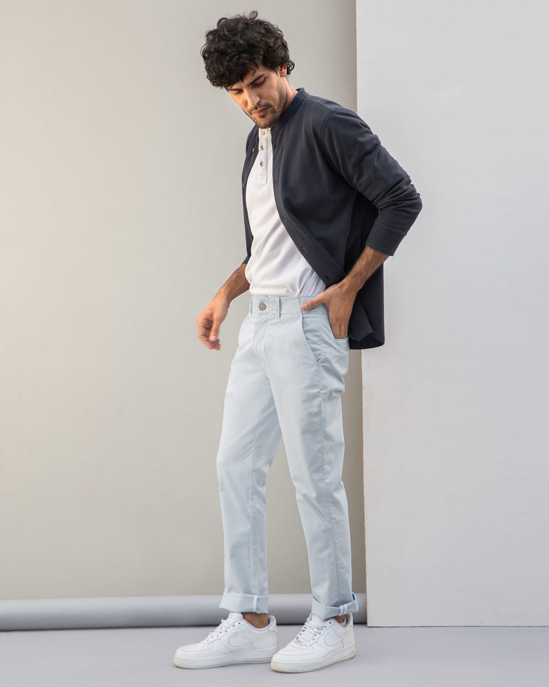 Slim Chinos - Blue