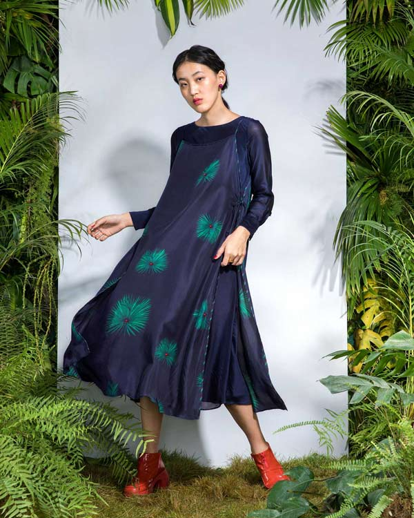 Enchanted Overlap Kurta