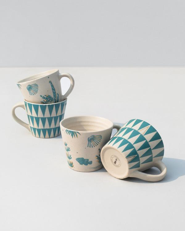 Oceanic Espresso Mug (Set of 4)