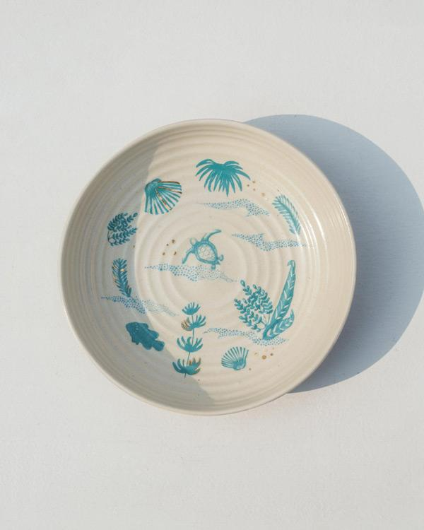 Oceanic Shallow Bowl
