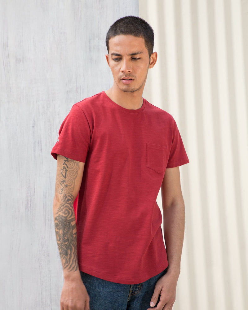 Pocket T-Shirt - Red