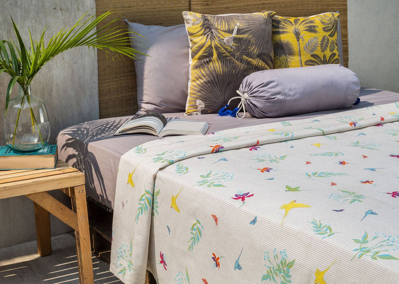 Botanical Bed Cover - King