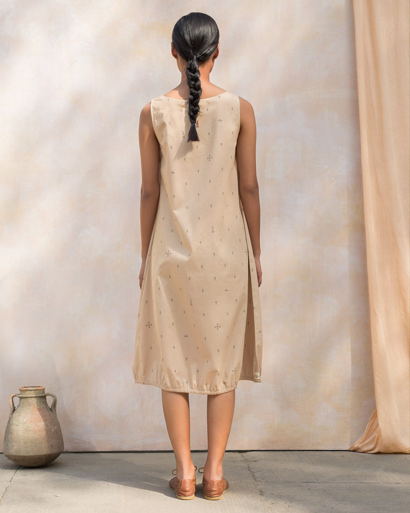 Joey Dress - Beige