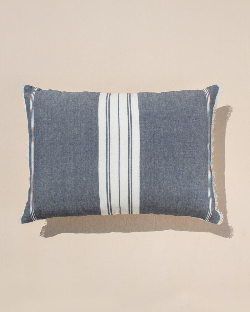 Stripey Lumbar Pillow