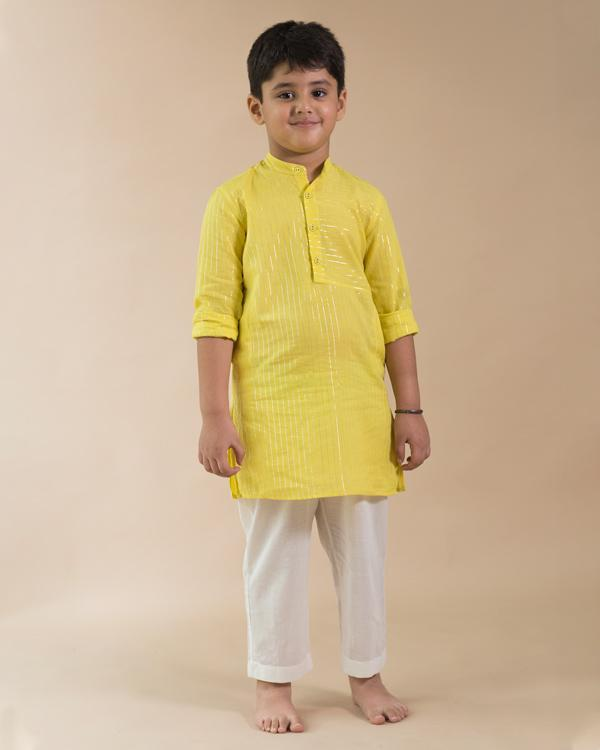 Little Panel Kurta
