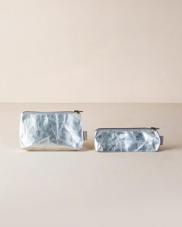 Planet First Paper Pouches - Silver