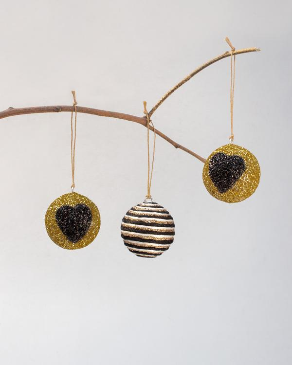 Beaded Bauble Decor (Set of 3)