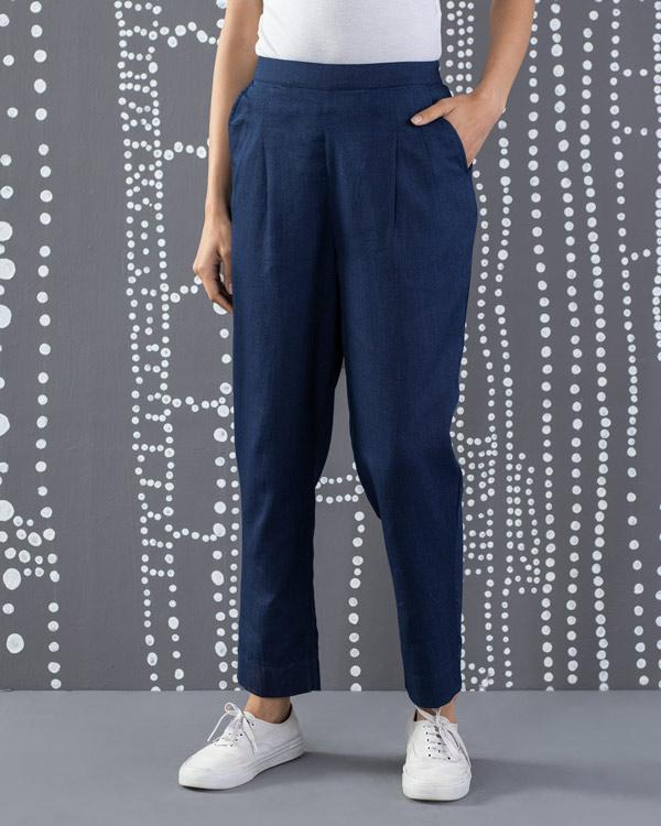 Narrow Pants - Indigo