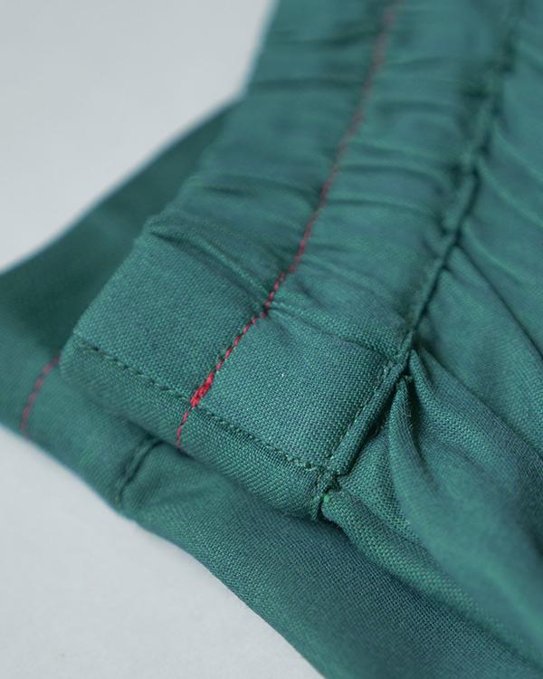 Little Slouchy Pants - Green