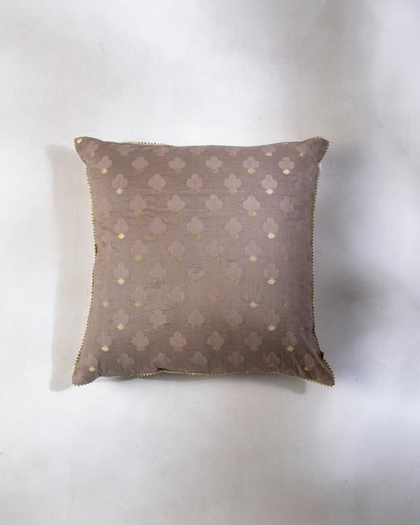 Trefle Cushion - Taupe