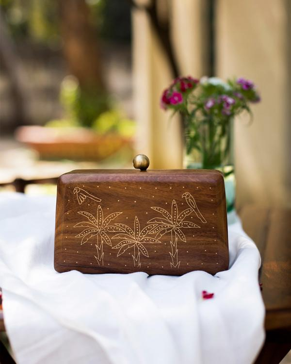 Tota Clutch - Wood