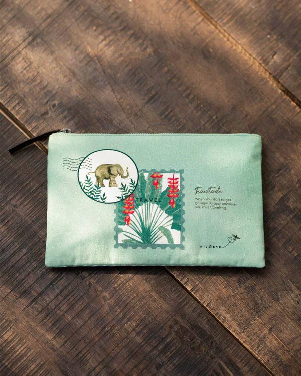 Tembo Pouch Medium - Green