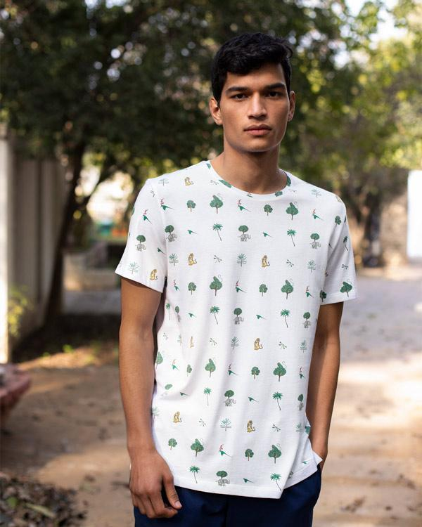 Jungle T-Shirt - White