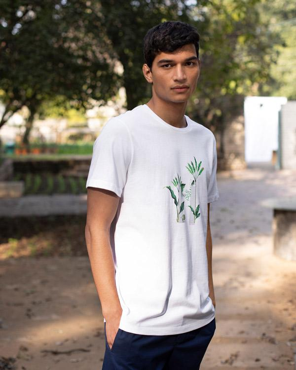 Wildlife Corridor T-Shirt - White