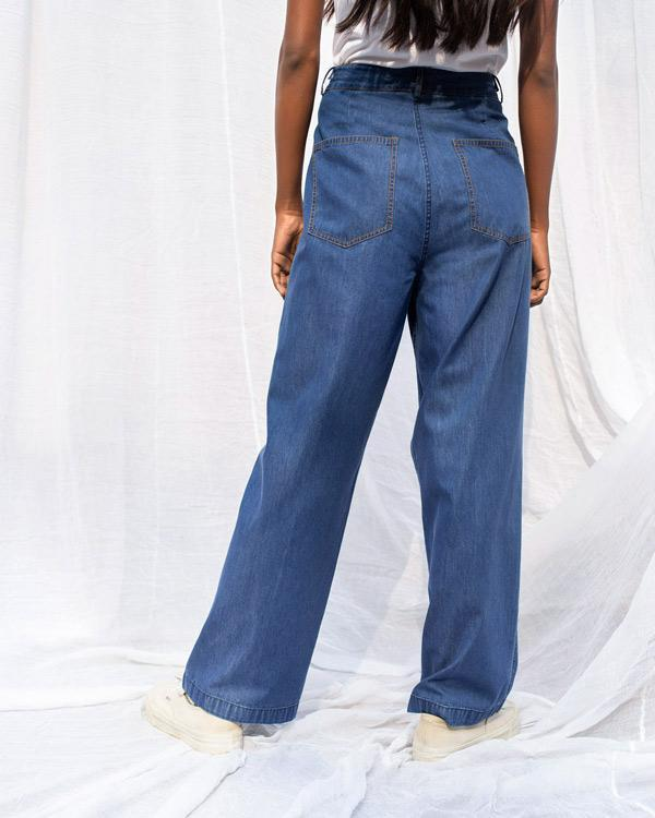 Teesta Trousers - Blue
