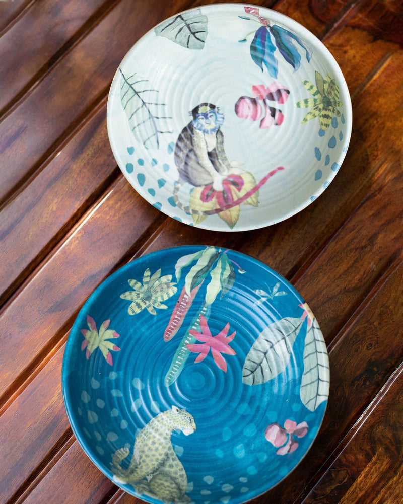 Mahi Shallow Bowl (Set of 2)