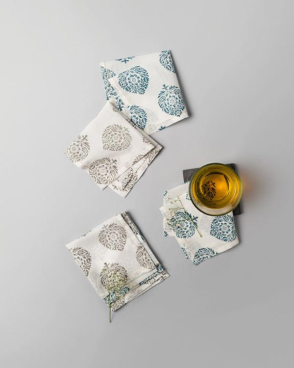 Kaika Cocktail Napkins (Set of 6) - Multi