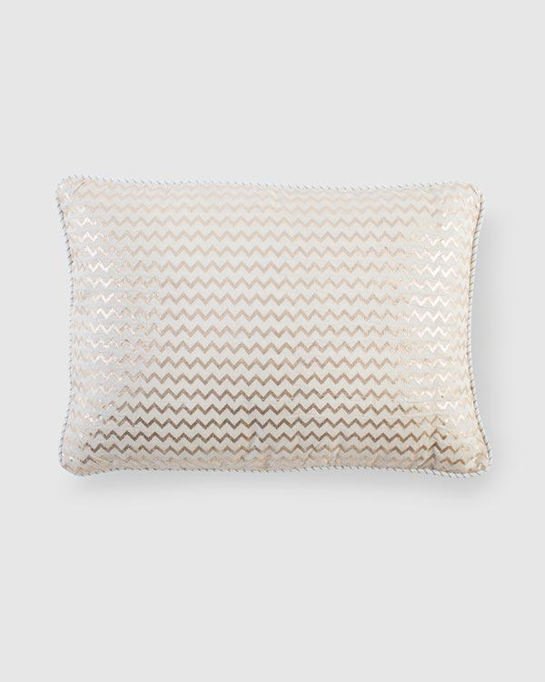 Chevron Chanderi Pillow
