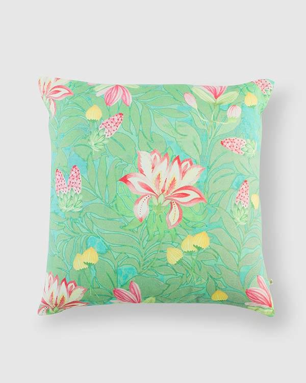 Dandeli Cushion - Smoke Green