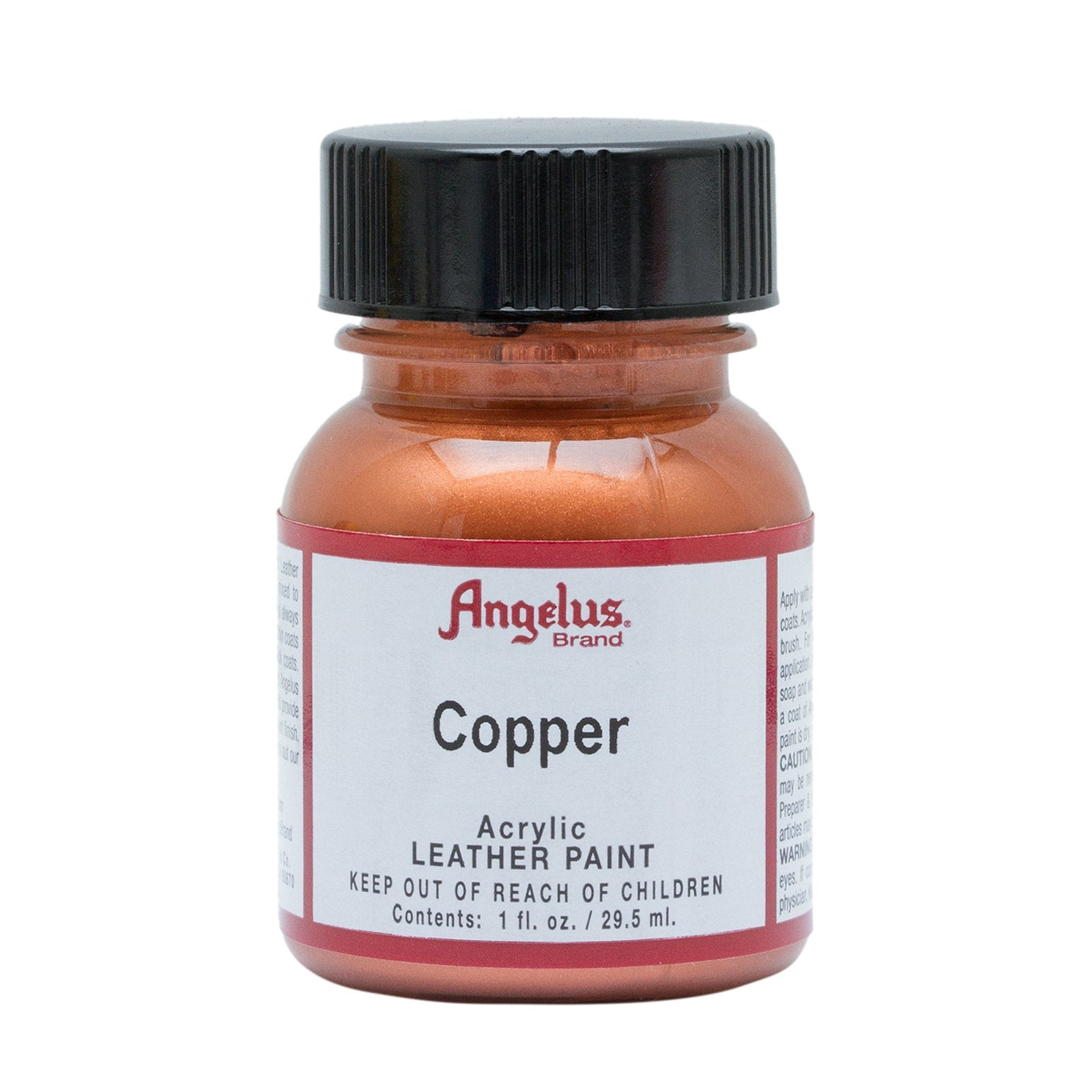 Angelus® Metallic Leather Paint, 1 oz., Copper