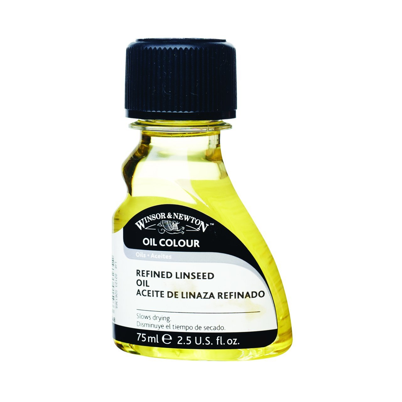 Winsor & Newton Refined Linseed Oil, 75ml
