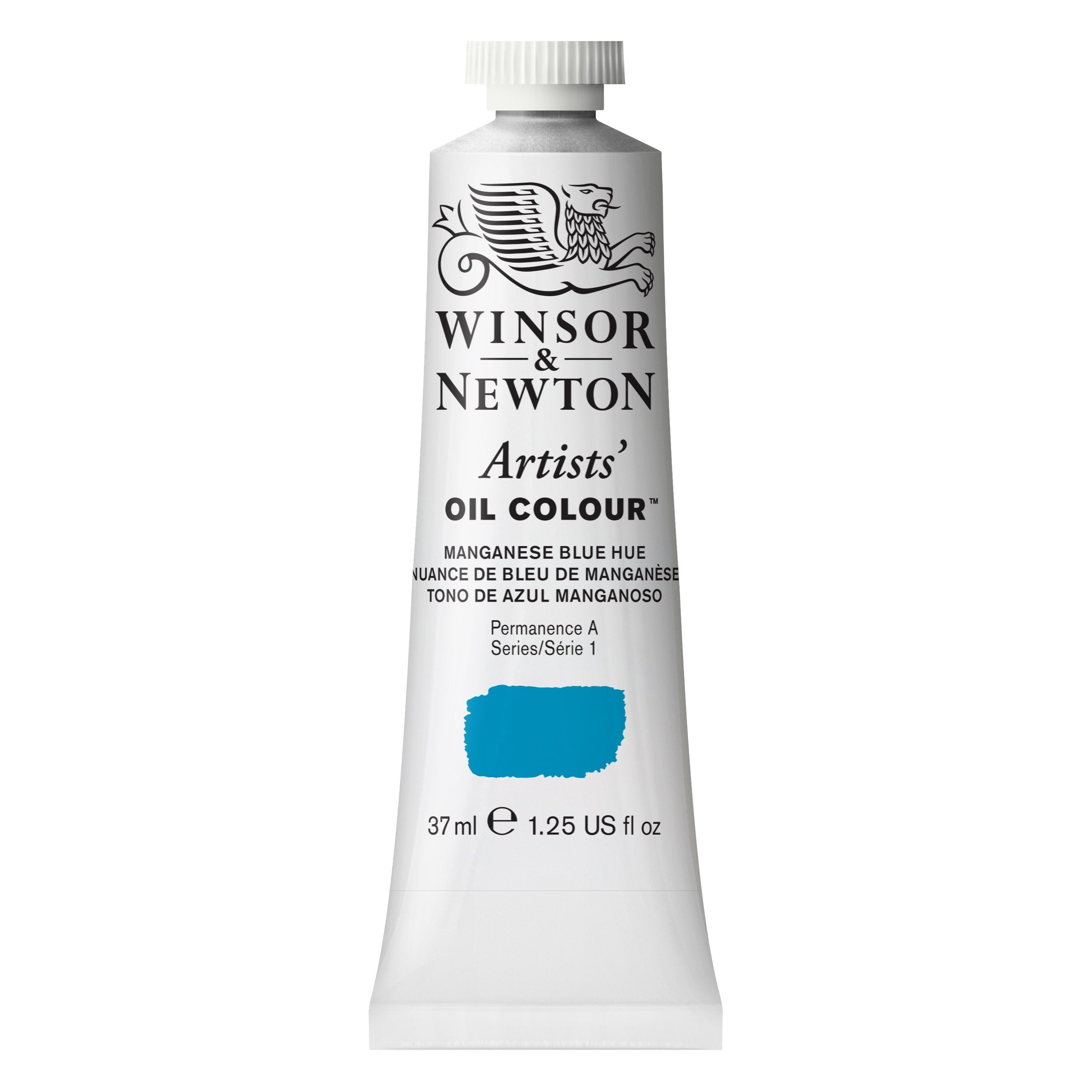 Winsor & Newton Artists' Oil Color, 37ml, Manganese Blue Hue