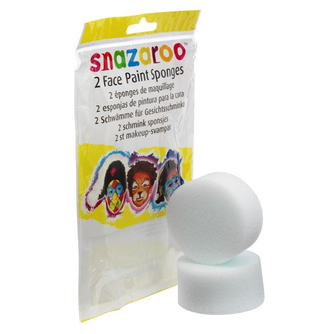 Snazaroo Face Painting High Density Sponge Set, 2/Pkg.