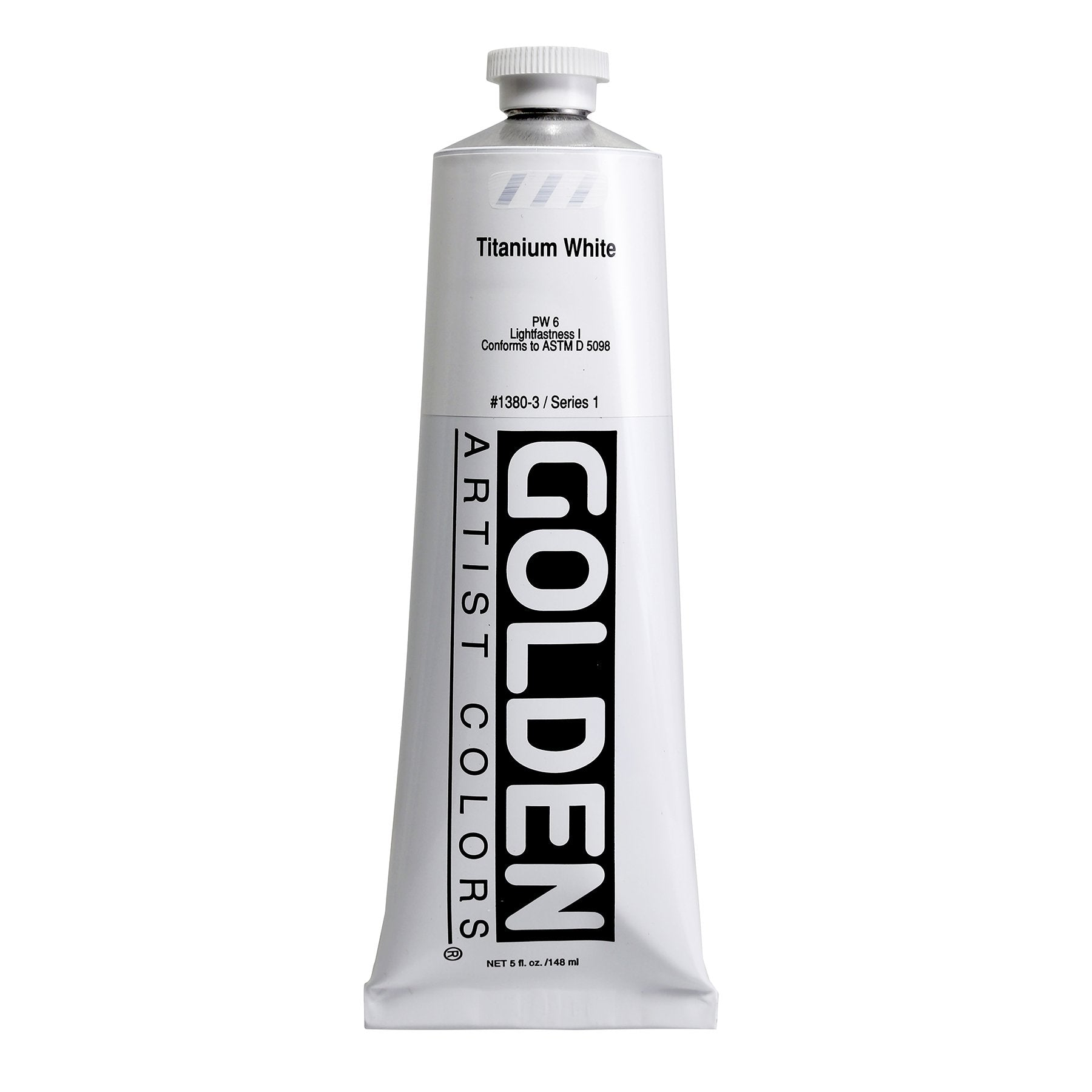 Golden Heavy Body Acrylic, 5 oz., Titanium White