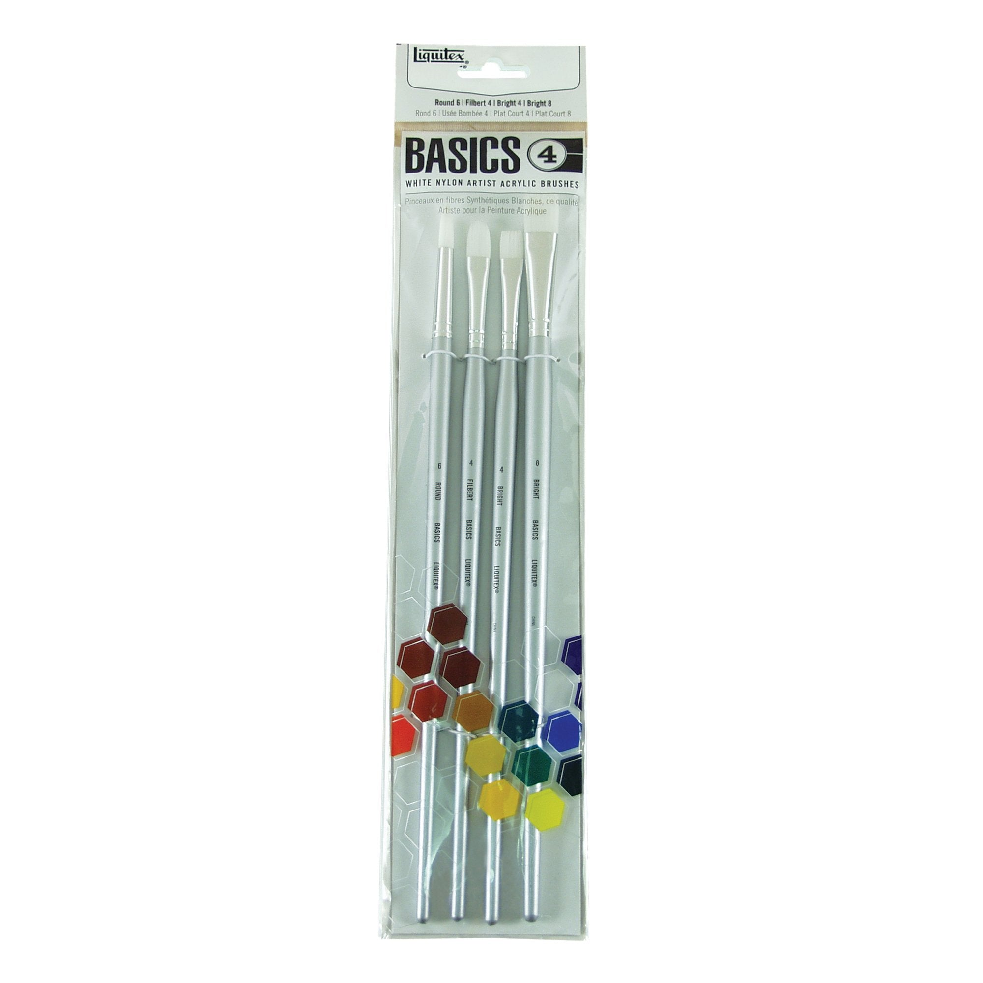 Liquitex BASICS Brush Set 4, Large Brush
