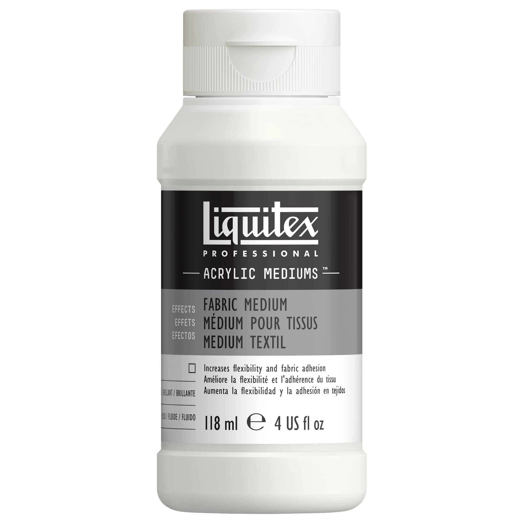 Liquitex Fabric Medium, 4 oz.