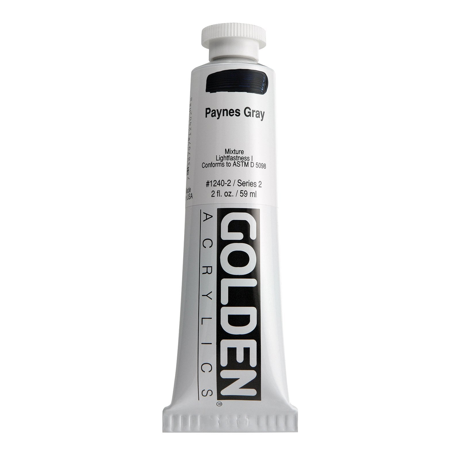Golden® Heavy Body Acrylic, 2 oz., Paynes Gray