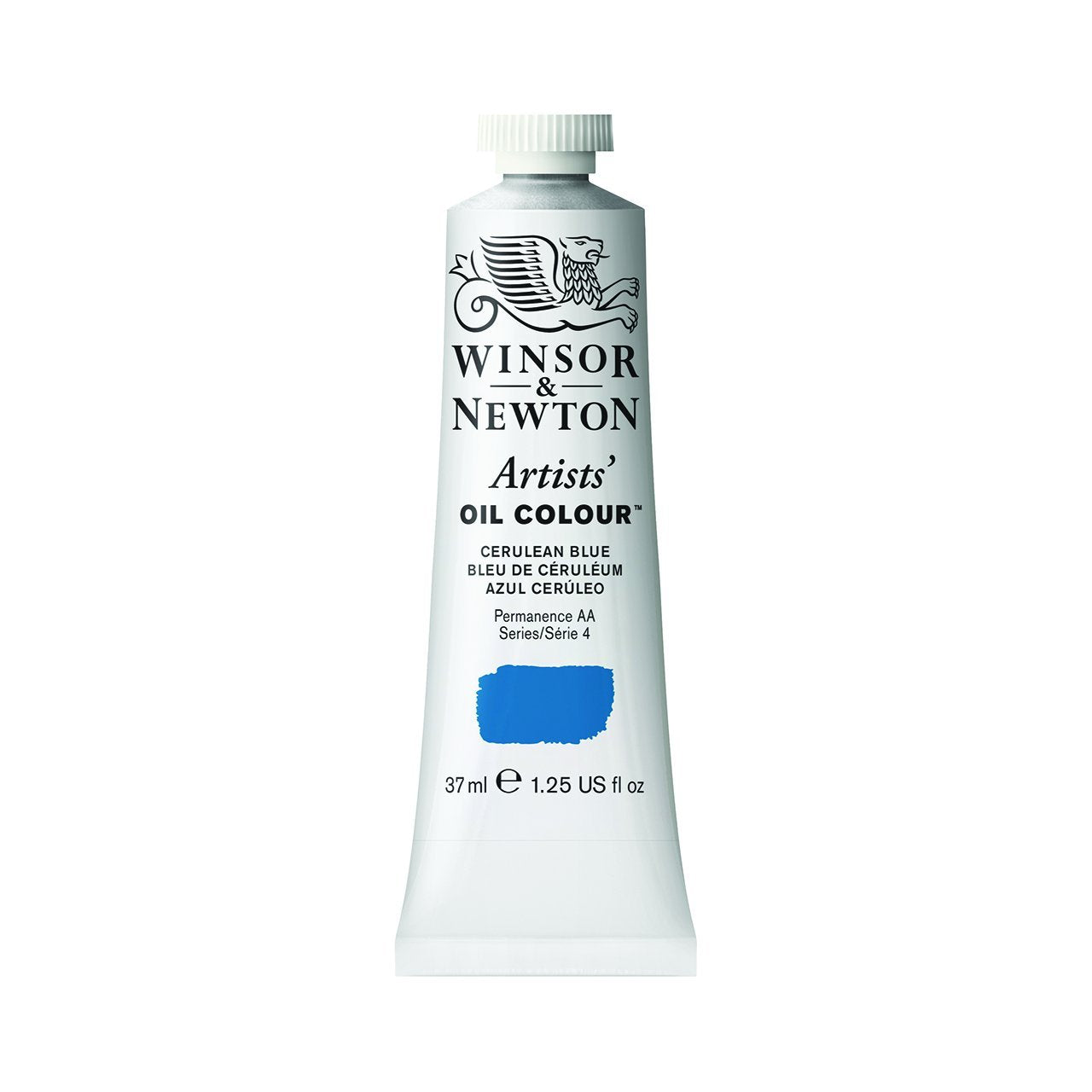 Winsor & Newton Artists Oil Color, 37ml, Cerulean Blue