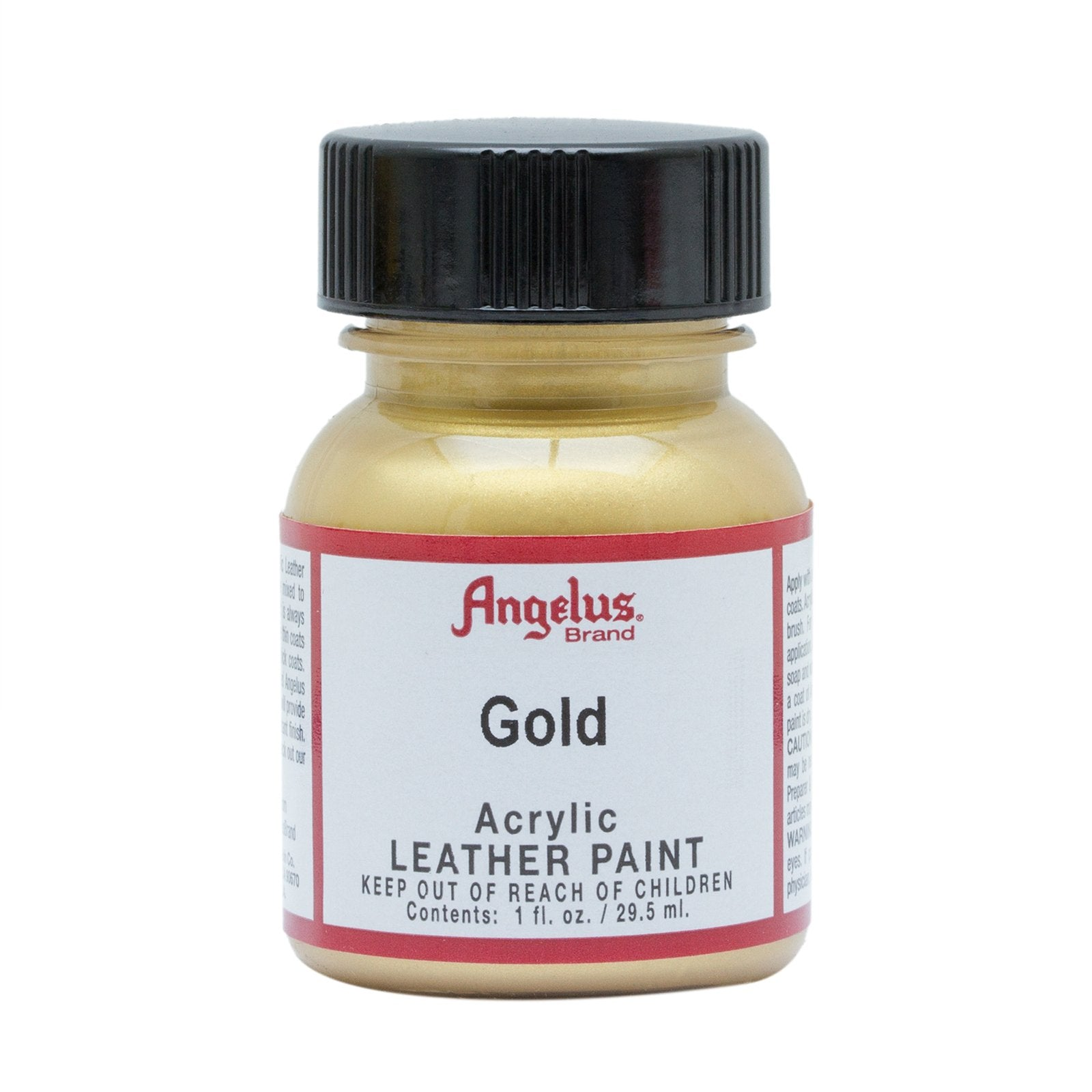 Angelus® Metallic Leather Paint, 1 oz., Gold