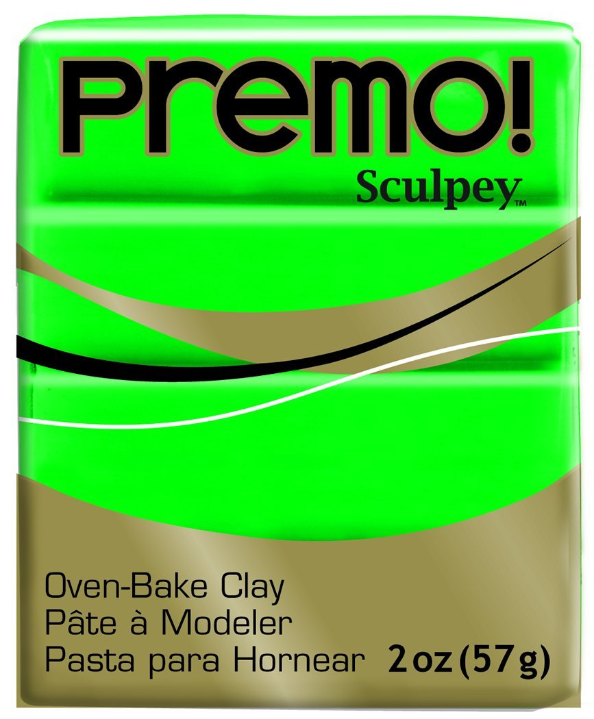 Premo! Sculpey Modeling Clay, 2 oz., Green